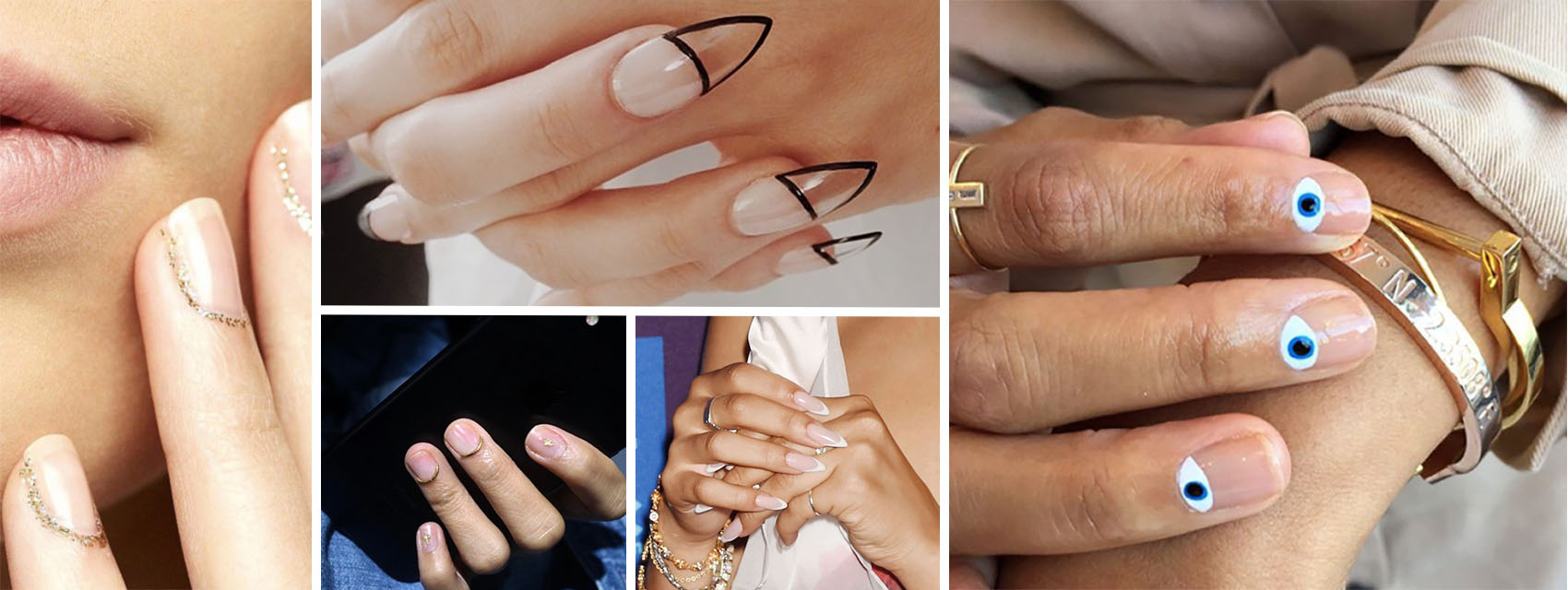 How To Pull Off The Clear Nail Trend
