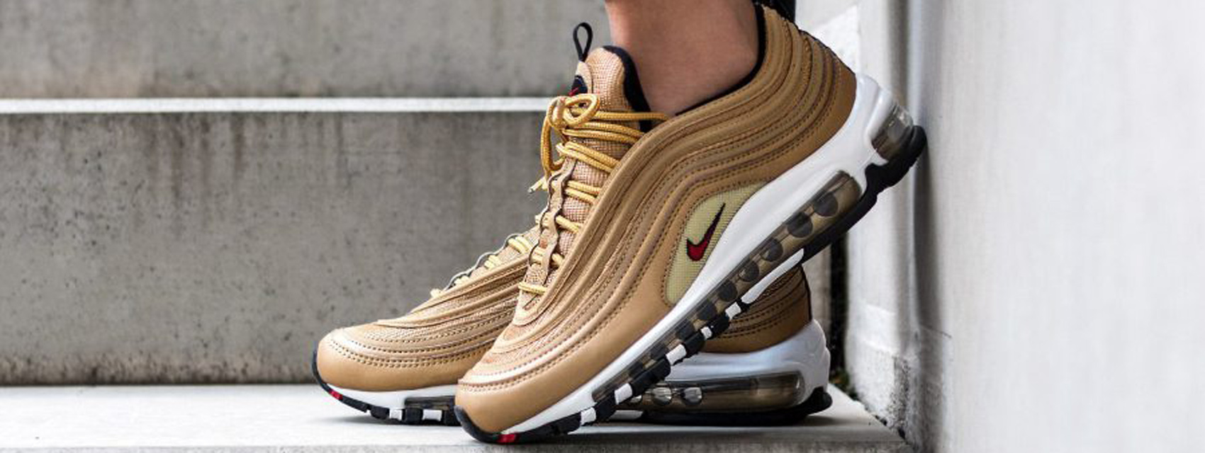 Cheap Nike Air Max 97 Black Gold Le Site de la Sneaker