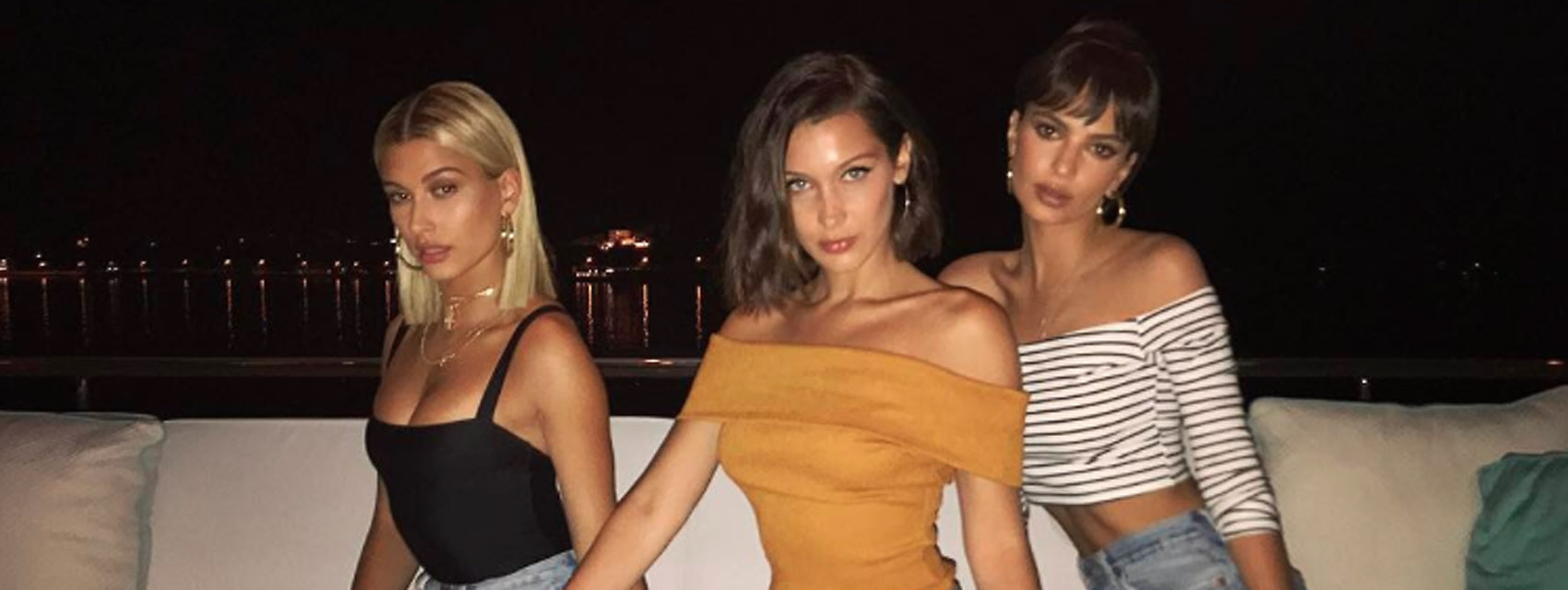 Bella hadid vacation france