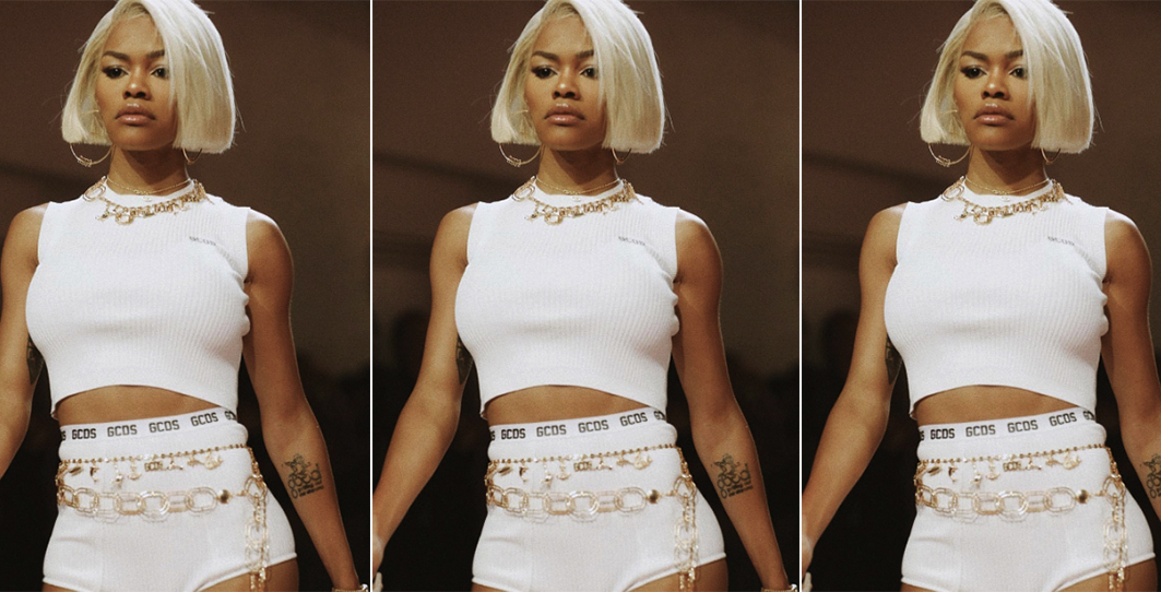 Teyana taylor walks the catwalk to end all catwalks at new york fashion week