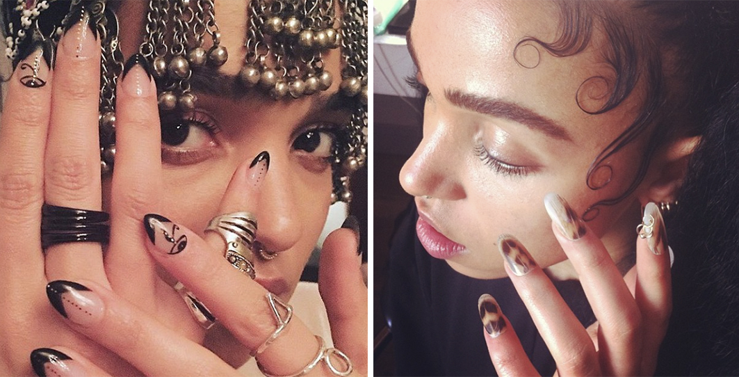 Imarni nails for fka twigs banner