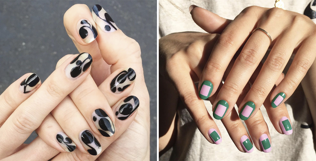 Up Your Logo Nail Game With This Street-Perfect Nail Art Up Your ...
