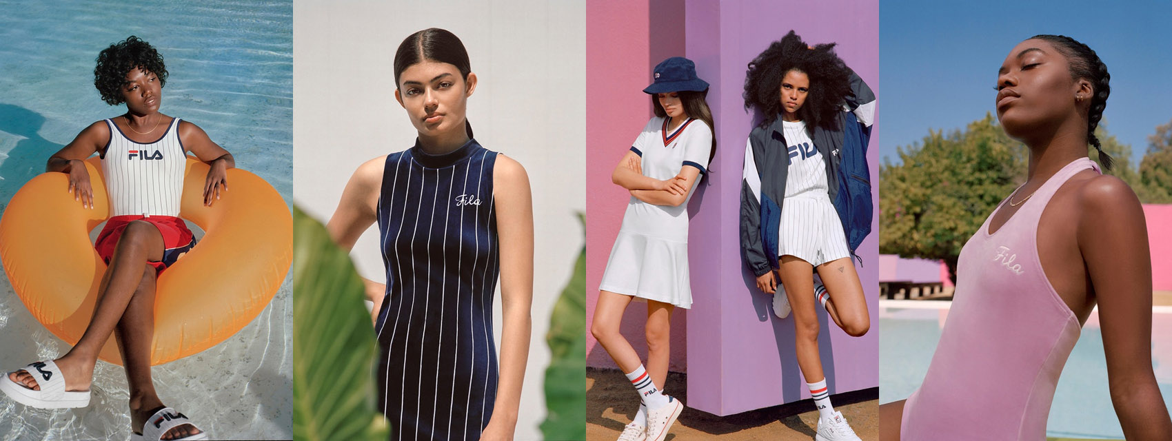 Fila spring summer heritage lookbook