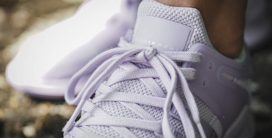 Adidas pastel sneaks for hot summer days