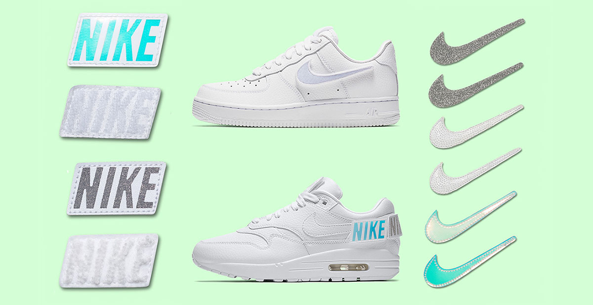 Nike air force one orange white removeable patches just do it sneaker release sneakerhead fizzy mag 01