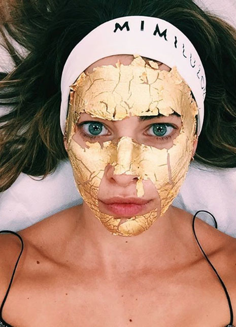 Gold masks