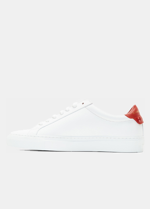 Givenchy white and red urban knots sneakers preview