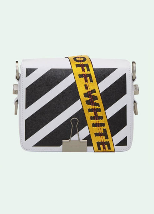 Off white virgil abloh binder clip bag spring summer 2018 preview