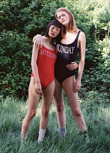 Alberta ferretti rainbow swimsuits