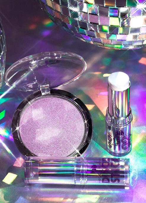 Urban decay holographic disco stick queen highlight powder preview