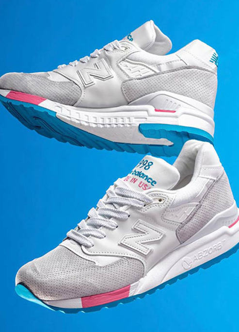 New balance 998 cotton candy sneaker release fizzy mag