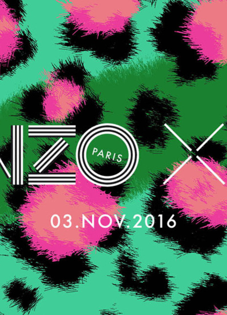 Kenzo hm collection nov 8 release date