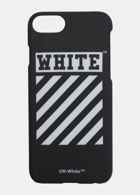 Black diagonal iphone 7 case preview
