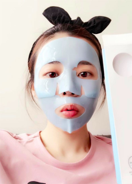 Rubber masks korean trend