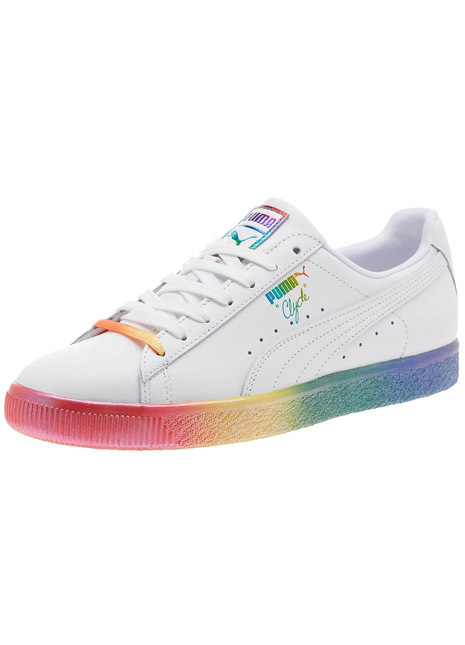 Puma pride pack rainbow clyde