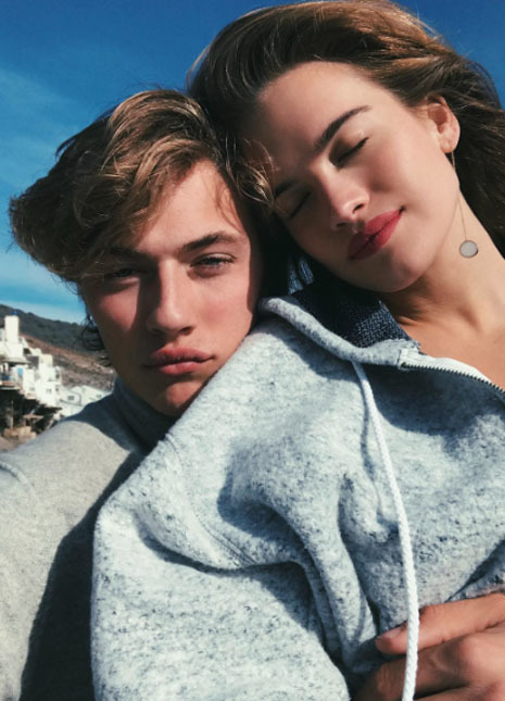 Lucky blue smith father