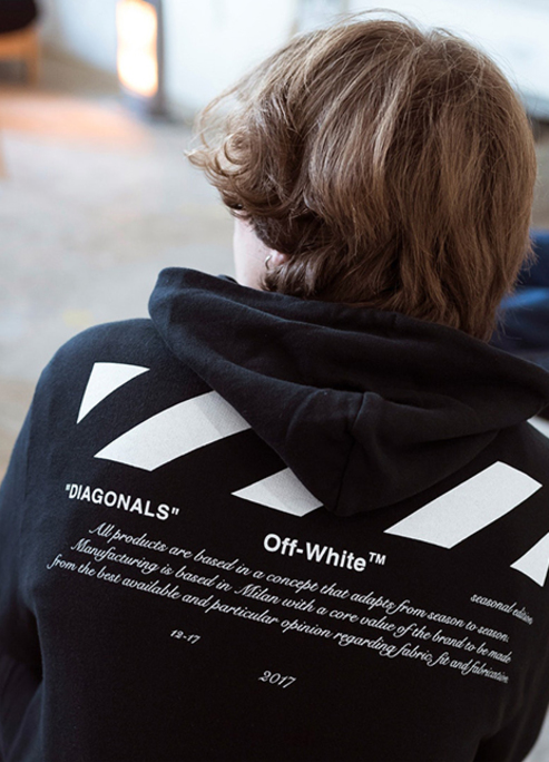 Off white for all capsule collection launch 1111