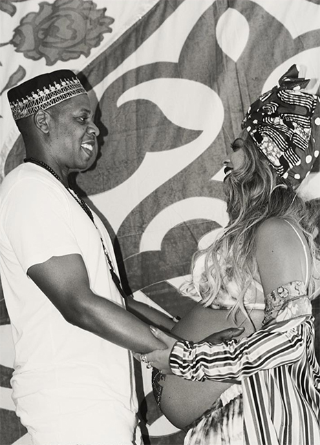 Beyonce gave birth