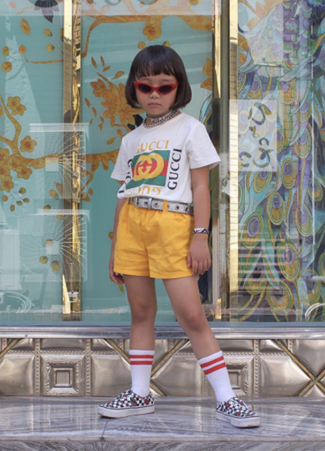 Coco six year old fashion blogger instagram