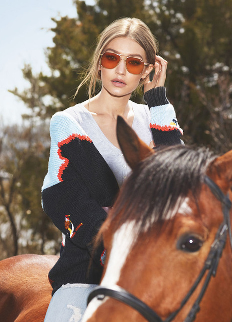 Vogue eyewear x gigi hadid fizzymag preview