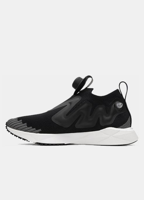 Reebok classics black pump supreme ultraknit sneakers
