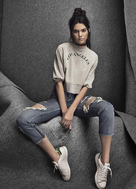 Kendall jenner signs with adidas