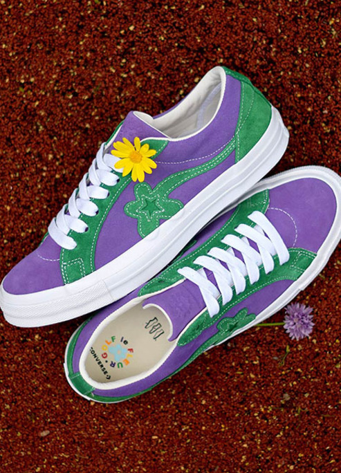 Converse tyler the creator golf le fleur one star two tone pack sneaker release 09
