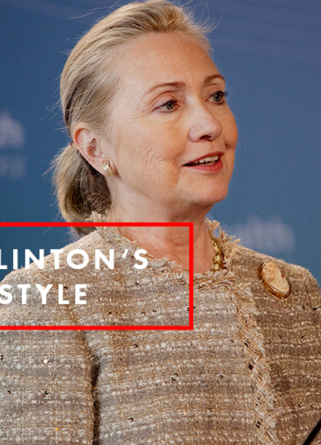 Hillary clinton streetstyle fashion