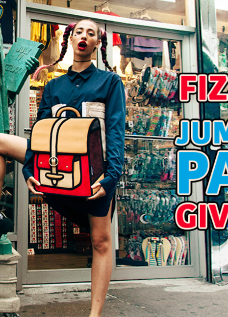 Fizzy magazine jump from paper giveaway