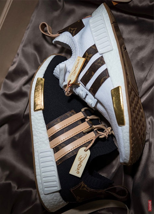 Craig david louis vuitton nmd custom preview