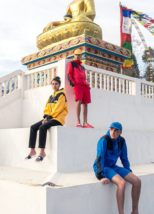 The north face khumbu pack summer outside clothes release fizzy mag