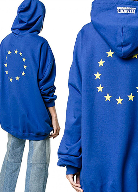 Vetements eu hoodie preview