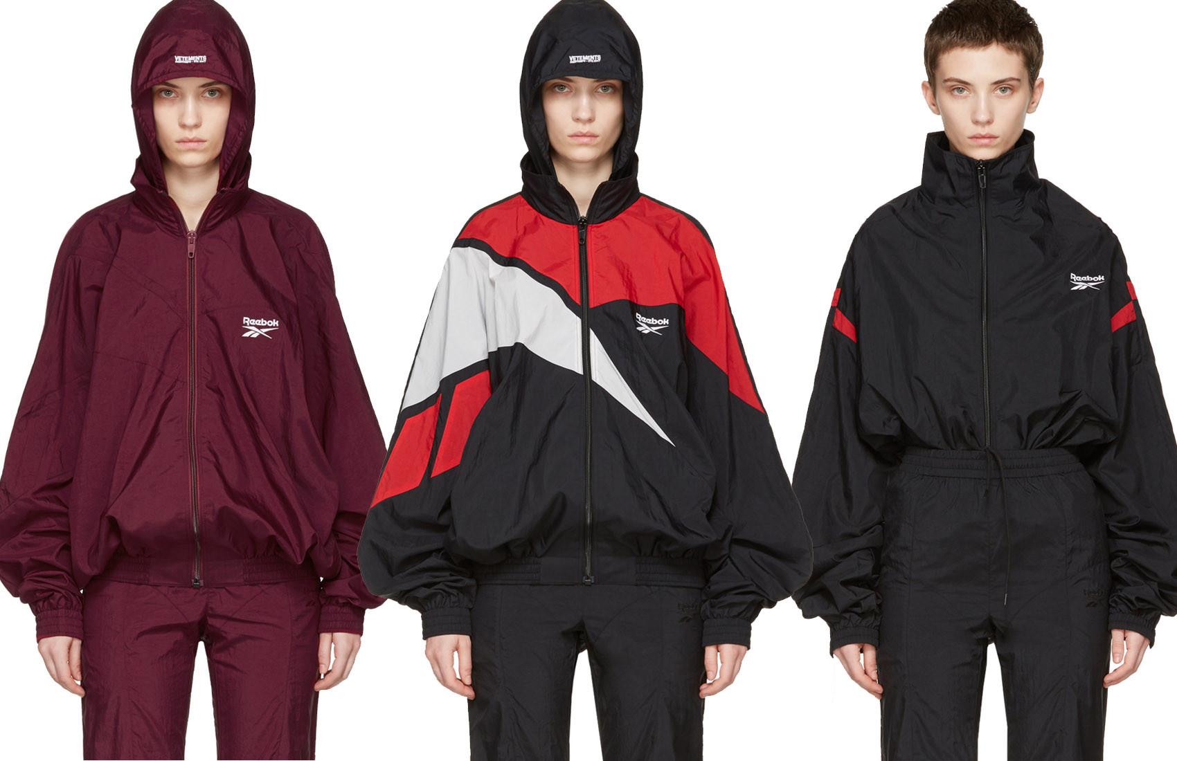 Vetements reebok tracksuits collection 2017