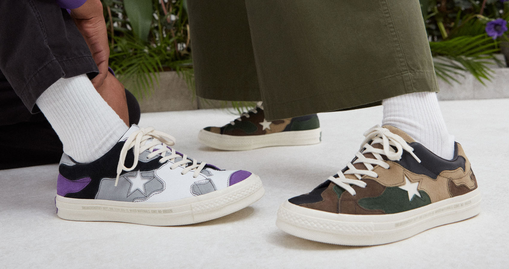 Sneakersnstuff Takes On The Converse One Star In Camo Print