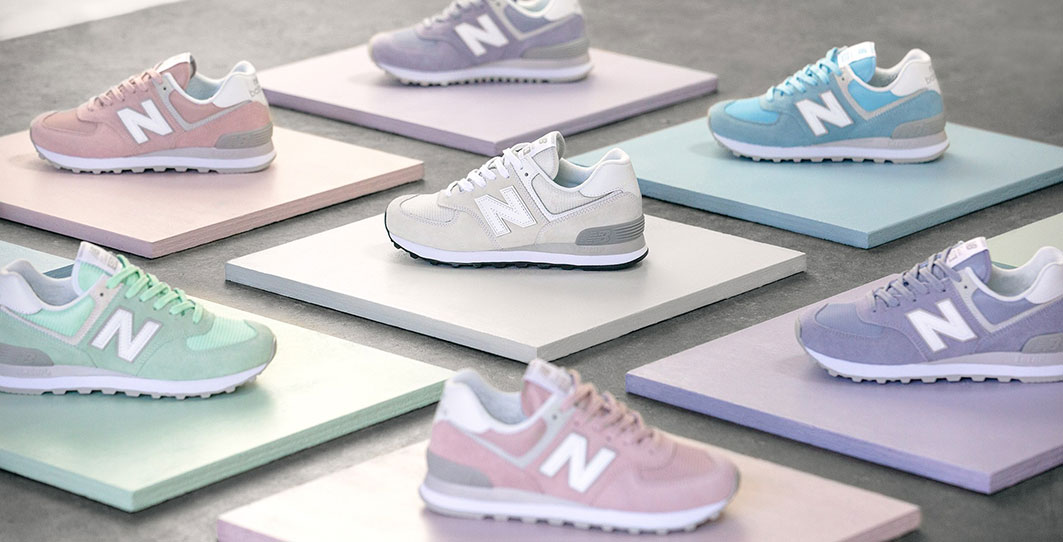 New balance 574 pastel pack banner