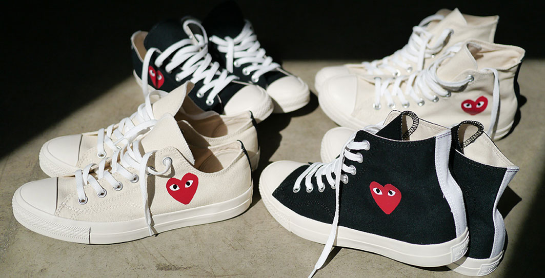 Where To Shop Comme Des Garcons Play X Converse