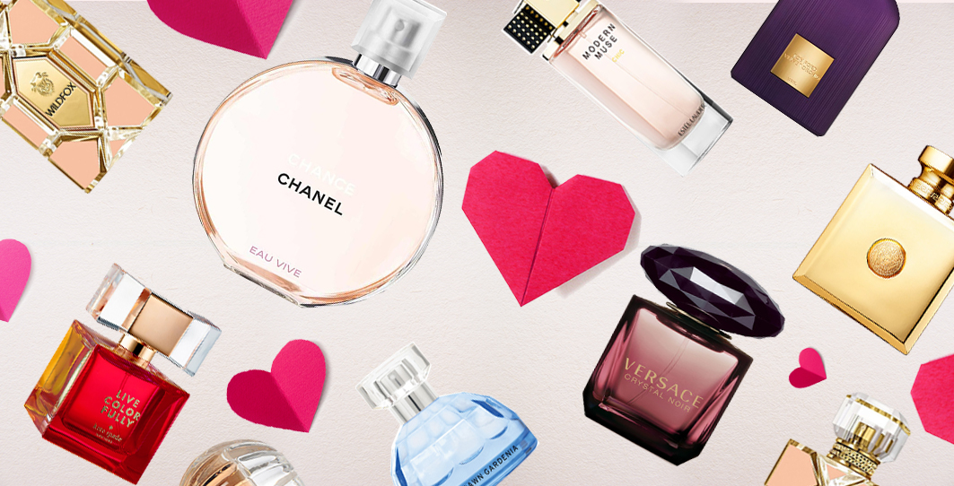 Valentine fragrances