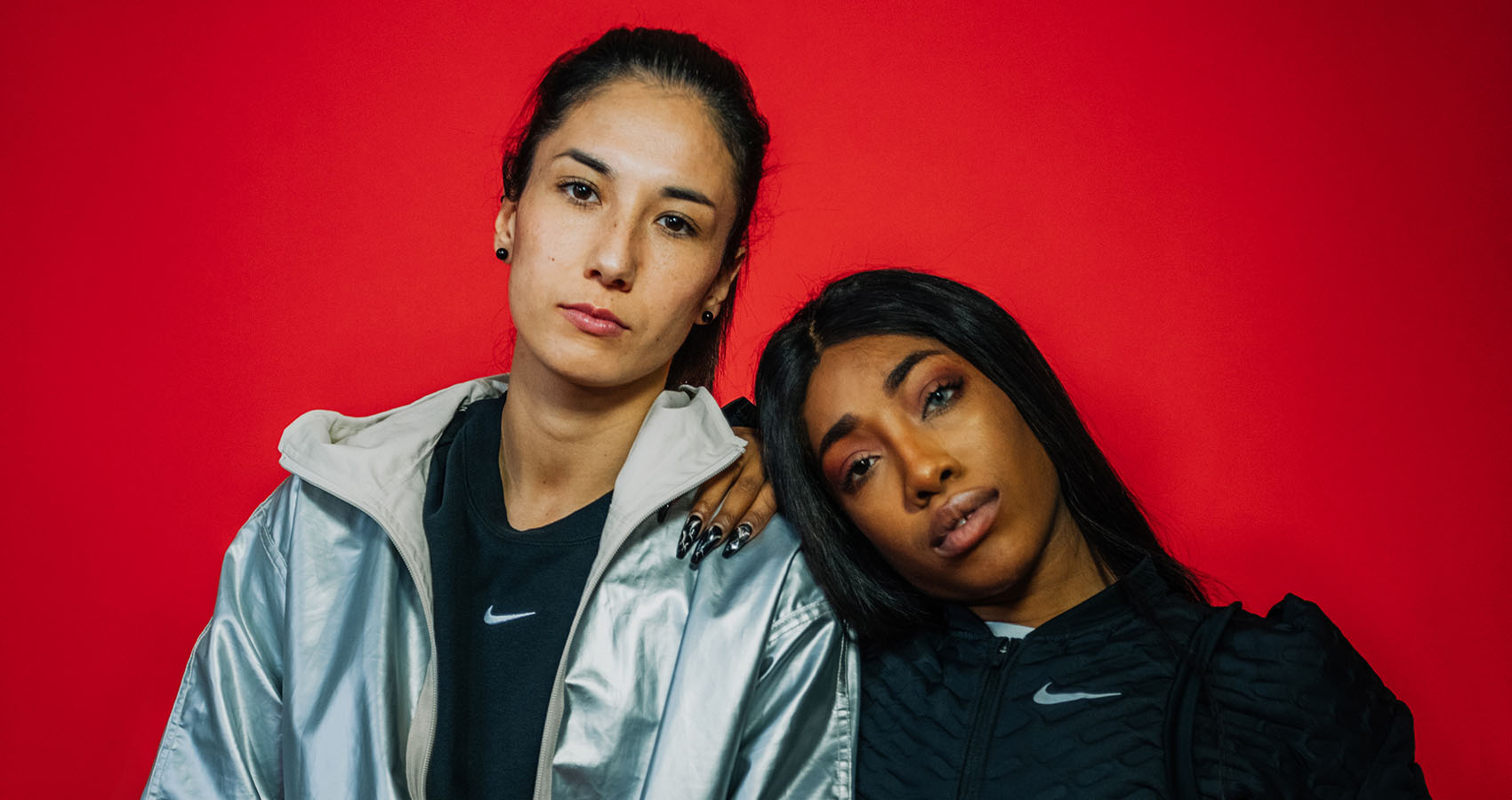 We Interview Hip-Hop Star Eunique & National Soccer Team Kicker Sara Doorsoun At The Nike Women Berlin Days