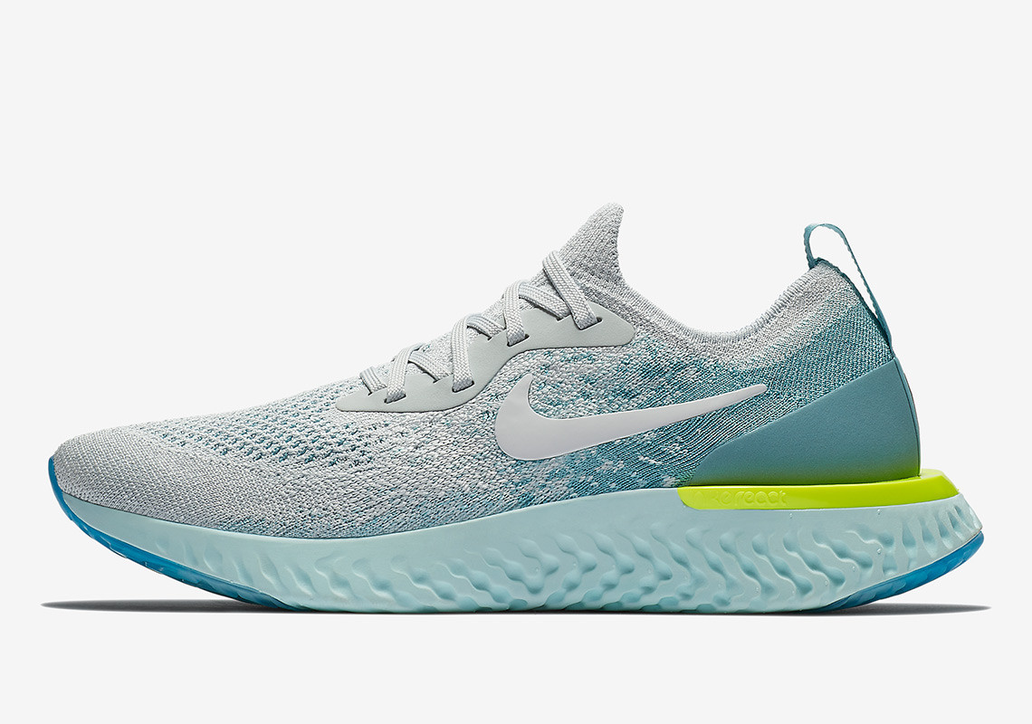 The Nike Epic React Flyknit 'Volt Glow' Pack Couldn't Be More Current