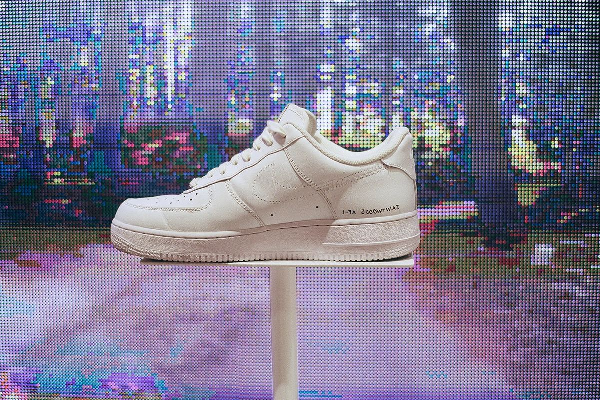 Nike Teams Up With Saintwoods On Exclusive Air Force 1 Capsule