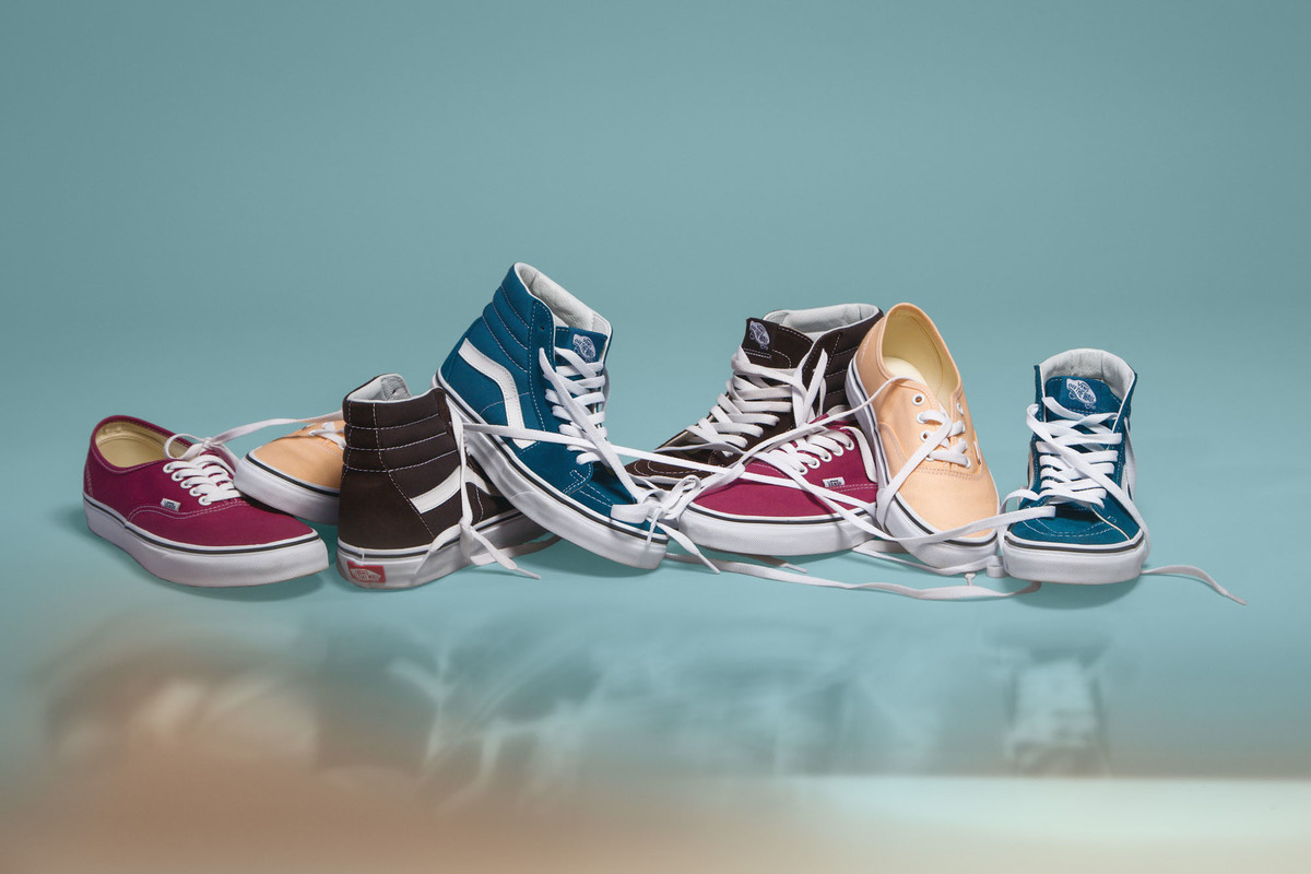 Color Theory Collection for Vans