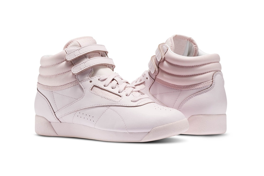 "Reebok's Freestyle Hi ""Color Bomb"" Pack Gets A Fresh Pastel Makeover"