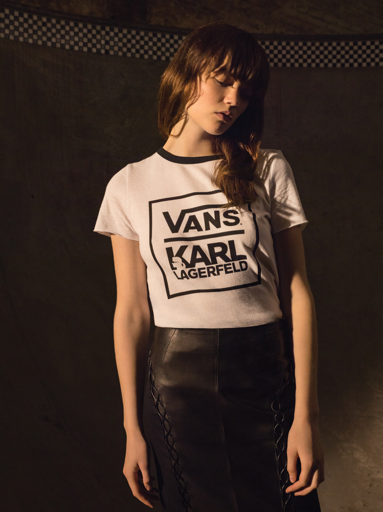 Here's Your First Look At The Upcoming Vans X Karl Lagerfeld Collection