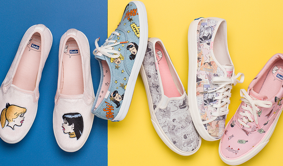 Keds Have Teamed Up With Riverdale To Create Betty and Veronica Sneakers