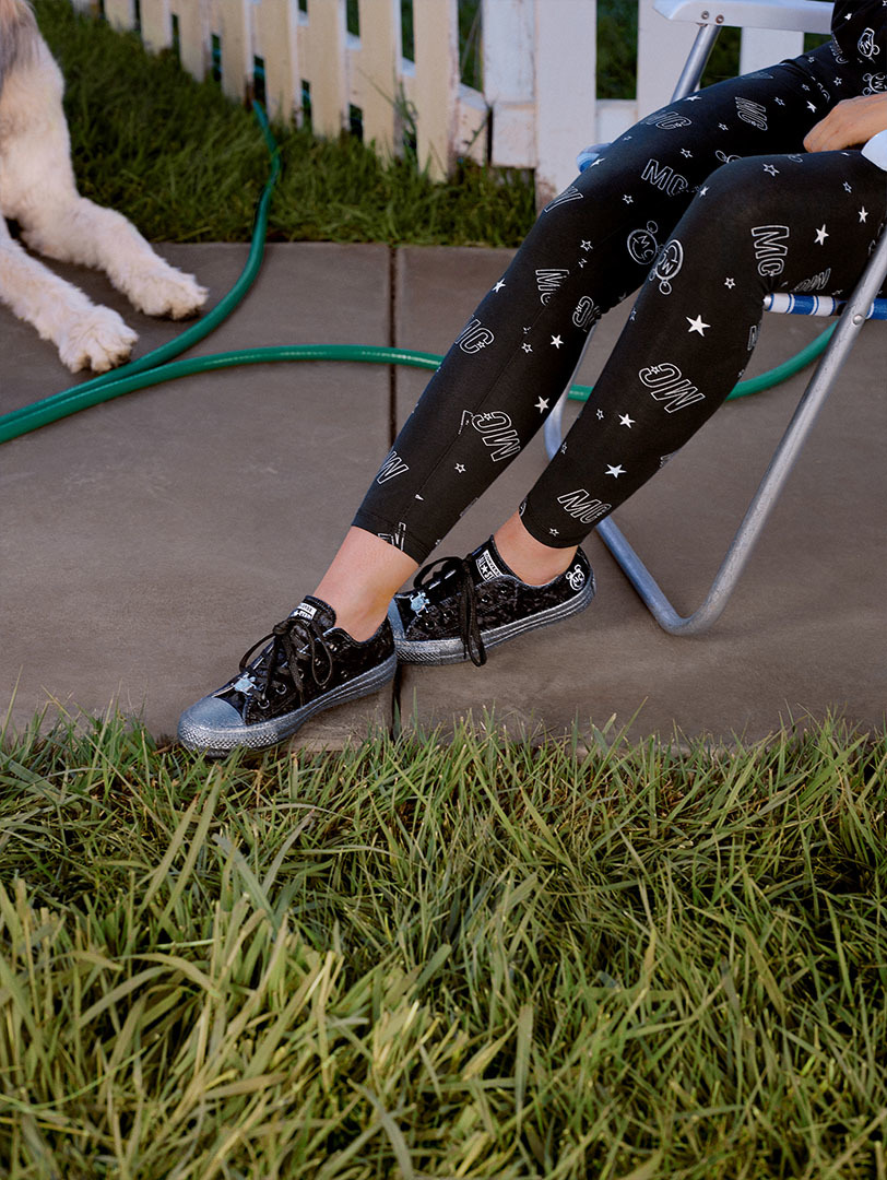 Miley Cyrus Has Teamed Up With Converse For Third Collection