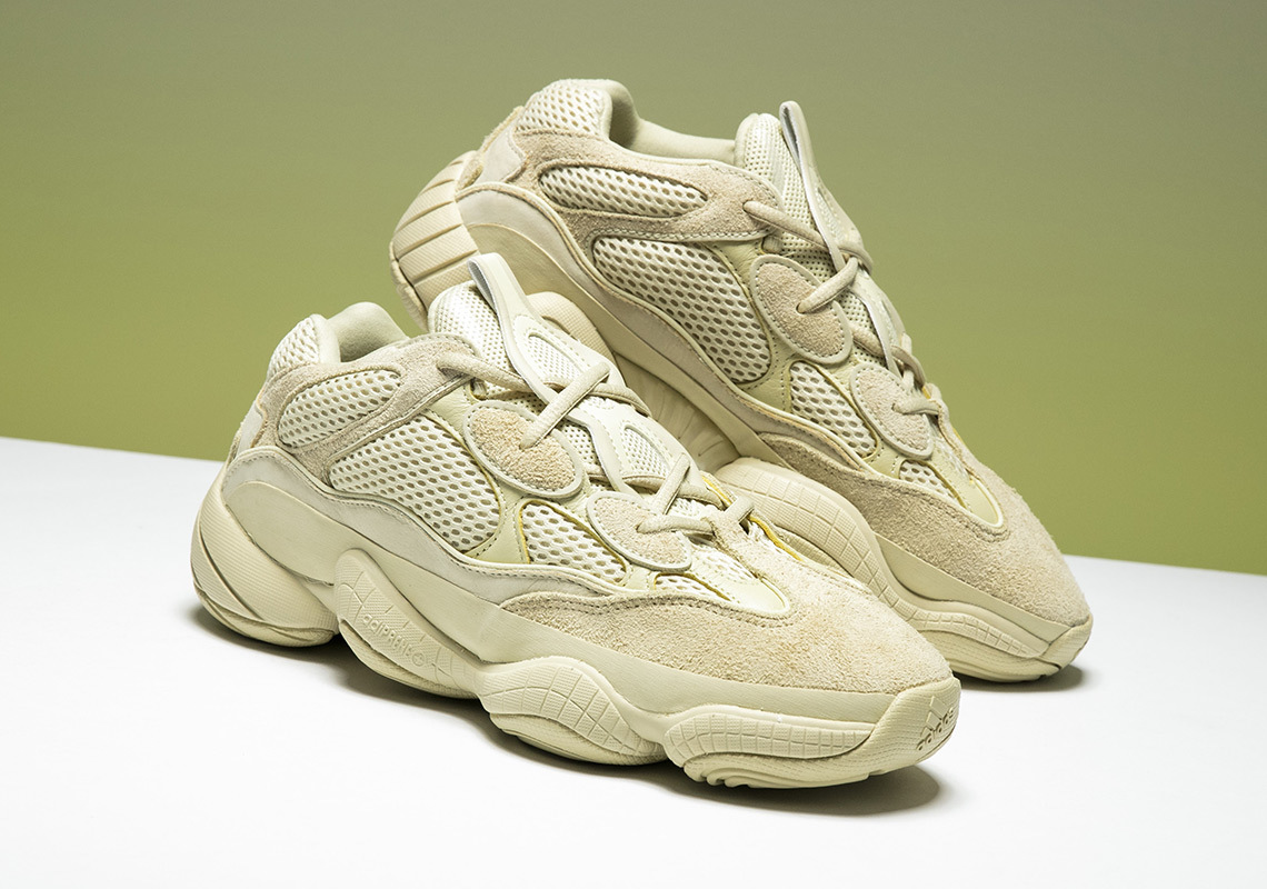 "The Yeezy 500 ""Super Moon Yellow"" Finally Gets A Re-Release"