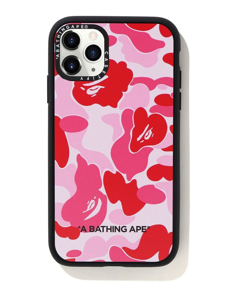 Blend In Whilst Standing Out With The Casetify X BAPE Collaboration