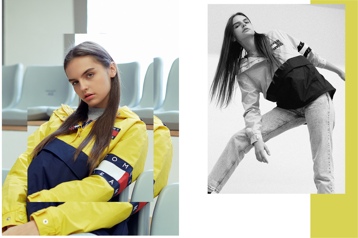 90s Vibes Take To The Court In HBX X Tommy Hilfiger Editorial