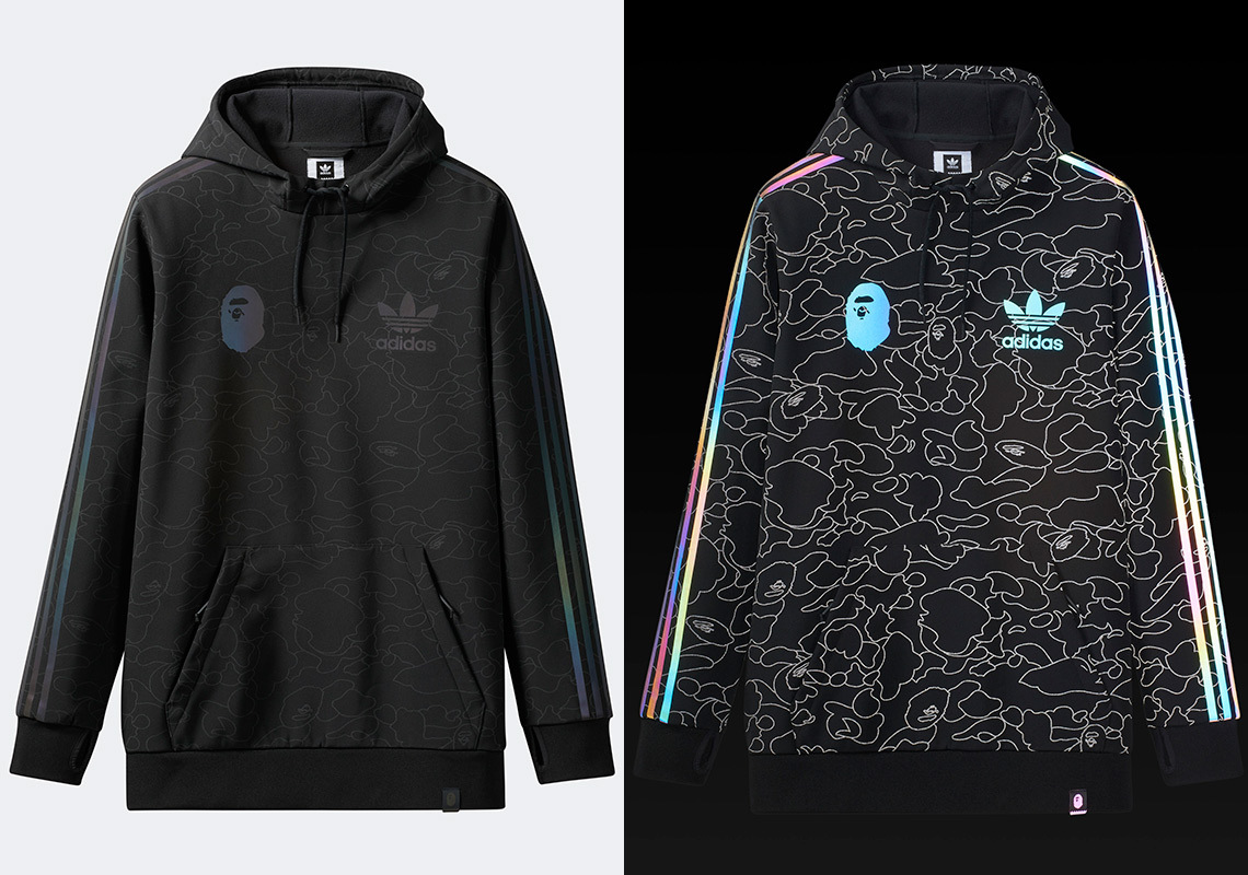 Bape x Adidas Snowboarding To Drop New Reflective Collection