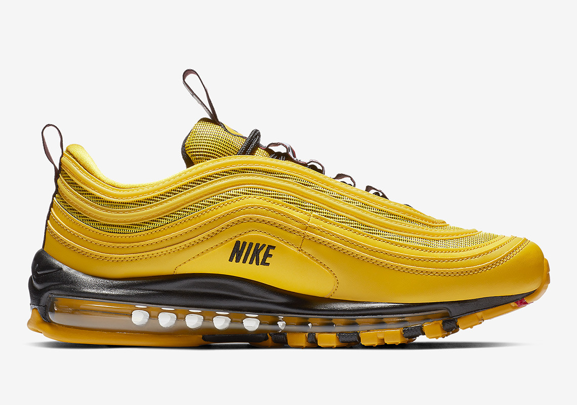 Nike Has Released A New Air Max 97 Model In A Taxi Cab Yellow